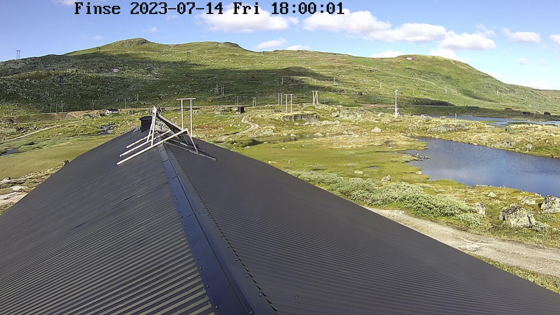Webcam Finse, Ulvik, Hordaland, Norwegen